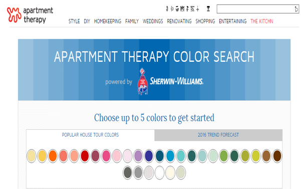 Sherwin-Williams Color Chips