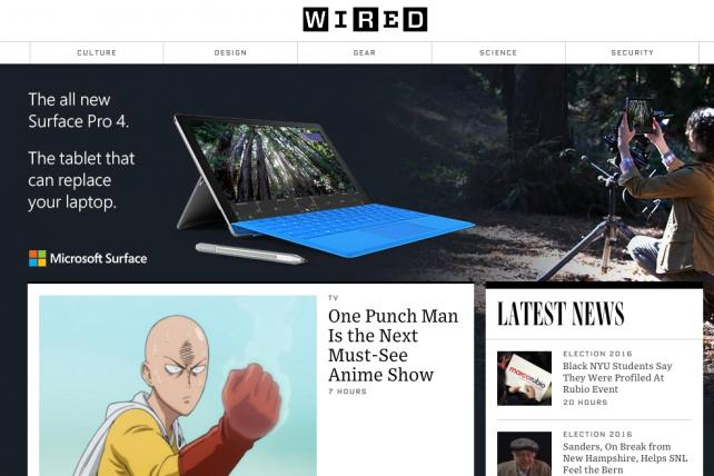 Wired Offers Ad-Free Website to Appease Ad Blockers